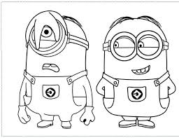 Small Picture Minion Pictures To Colorjpg 998768 COLORING PAGESAdults and