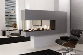 3-sided fireplace. direct vent fireplace. modern gas fireplace