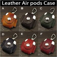 apple air pods airpods leather case cover protective cover protector pouch wild hearts id ac3689r9