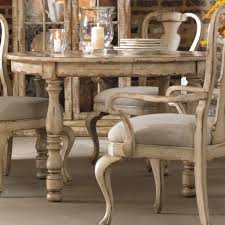 Furniture Round Shabby White Wooden Dining Table Added By Shabby