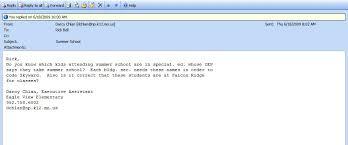 email teacher rickbell efolio
