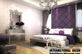 Contemporary bedroom decor Urban Purple And Silver Bedroom Contemporary Bedroom Design And Purple Wall Decoration Purple Silver Bedroom Decor Yhomeco Purple And Silver Bedroom Contemporary Bedroom Design And Purple