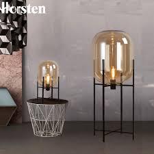 <b>Nordic</b> Post-modern Simple Glass <b>Floor Lamps Creative</b> Standard ...