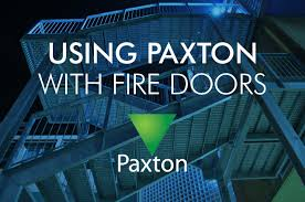 using paxton access control with fire doors