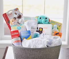 image of new baby gift basket