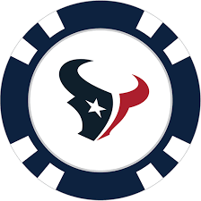 Houston Texans Poker Chip Ball Marker - Team Golf USA