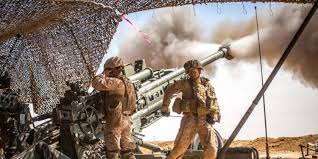 Marine Artilery Marines In Syria Fired More Artillery Than Any Battalion Since