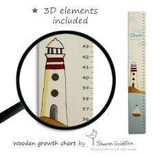 Childs Growth Chart For Wall Child Baby Height Measurement