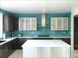 aqua glass kitchen backsplash tiles design ideas regarding blue tile in blue glass backsplash tile plan