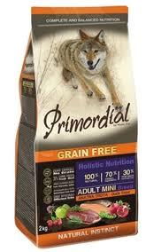 <b>Сухой корм Primordial Grain</b> Free для собак мелких пород ...