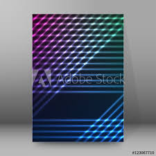 Brochure Cover Pages Background Report Brochure Cover Pages A4 Style Abstract Glow64