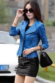spring women leather jackets plus size blends sheepskin leather jacket and coat women las short motorcycle jacket