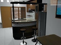 design kitchen set mini bar
