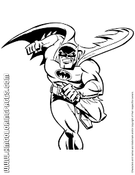 Small Picture Cool Batman Cartoon Coloring Page H M Coloring Pages