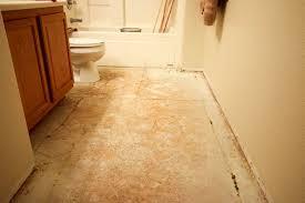transform a boring bathroom with beautiful vinyl tile