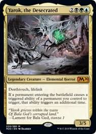 Yarok The Desecrated Core Set 2020 Magic The Gathering