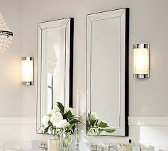 Astor Beveled Mirror, Polished Nickel Finish | Medicine cabinets ...