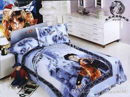brand new harry potter cartoon bed quilt cover bedding sets suit size 155 200cm with 69 38 set on qingfeng1681987 s dhgate com