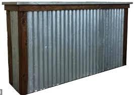 corrugated metal wainscoting corrugated metal wainscoting garage corrugated metal wainscoting