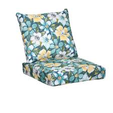 emerald paradise 2 piece deep seating outdoor lounge chair cushion