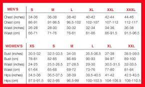 Nalini Size Chart Nalini Cycling Size Chart Nalini Usa