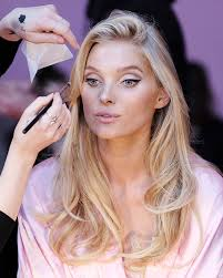 victoria s secret fashion show 2016 backse hair and makeup elsa hosk plements her plexion with a ery blonde shade