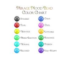 What Mood Ring Colors Mean Chart 70 Rational Emotion Ring Color Meaning