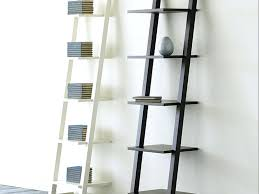 ladder shelving unit ladder shelving unit made of wooden with two diffe scheme for decorating books ladder shelving
