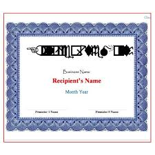 Free Certificate Templates For Word Microsoft Word Award Certificate Template Salonbeautyform Com