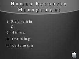 strategic management presentation apple inc  human resource management