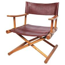 impressive manificent director chair leather directors chair sune lindstrm for at 1stdibs