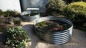 corrugated iron garden beds geelong