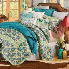 Western Spring Quilt Bed Set - Twin &  Adamdwight.com