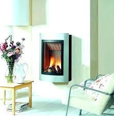 wall mount gas fireplace direct vent fireplace doors at home depot