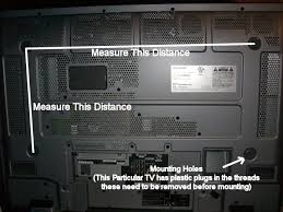 panasonic flat screen tv back. panasonic 37 inch lcd mounting holes flat screen tv back h