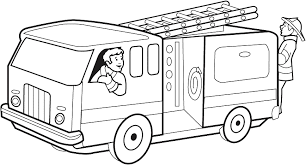 fire truck coloring page. Modren Page Fire Engine Colouring Picture Throughout Truck Coloring Page G