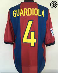 1998 Barcelona Pep Guardiola shirt - Football Shirt Collective
