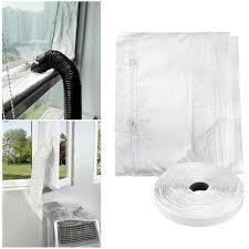 Airlock Mobile Klimaanlage Fenster Abdichtung C F Air Stop Klimagerät Neu
