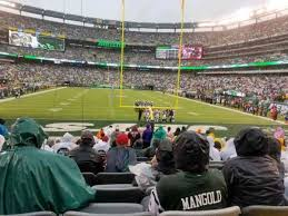 Giants Stadium Football Seating Chart Metlife Stadium Section 101 Home Of New York Jets New