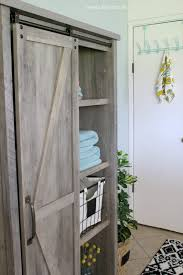affordable farmhouse laundry room