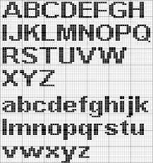 Image Result For Knit Alphabet Chart Generator Intarsia