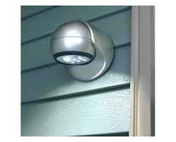 battery operated outdoor motion sensor light battery operated