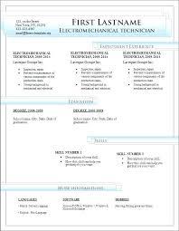 Resume Format In Word 2007 Resume Format Download In Ms Word 2007 Simple Resume Example
