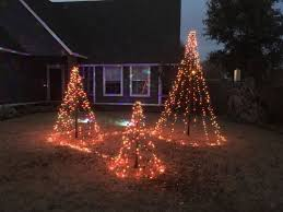 Pumpkins & witches outdoor halloween decor ideas. Diy Easy Christmas Tree Lights For Your Backyard Hometalk