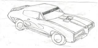 muscle cars drawings.  Cars Drawings Of Classic Muscle Cars Images With S