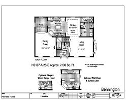 pennwest 2 story modular bennington hs107a a home overview
