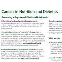 What is a Registered Dietitian  RD     YouTube Complete required coursework  can be done in undergraduate or graduate  school  through an approved program  in other words you can t just take the  required