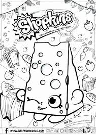 Moose And Zee Coloring Pages Unique Shopkins Coloring Sheets Free