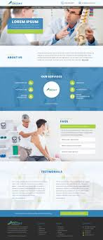 Acupuncture Web Design Upmarket Bold Health Care Web Design For A Company By