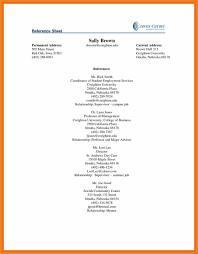 Sample Reference Page Teller Resume Sample